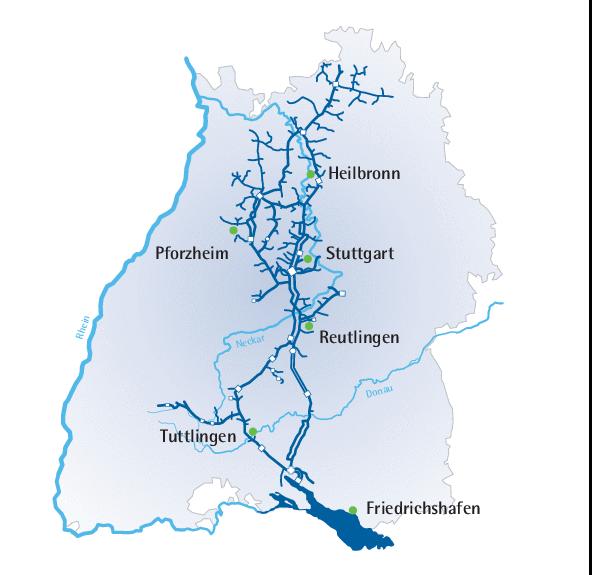 bodensee wasserversorgung karte Bodensee Wasserversorgung   Weg des Wassers